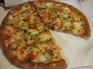 アカモクレシピ ・ピザ