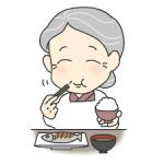 「食物繊維」の年代別食べ方ポイント③  70代~編